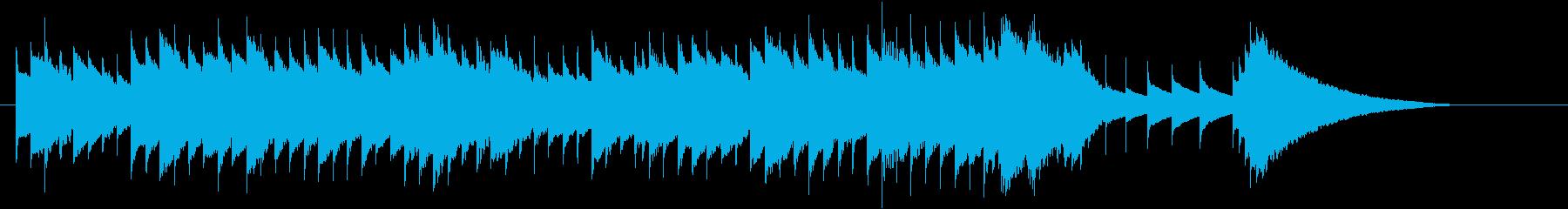 オルゴール音色によるジングルです。の再生済みの波形