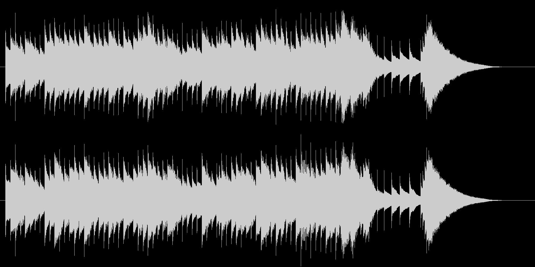 オルゴール音色によるジングルです。の未再生の波形