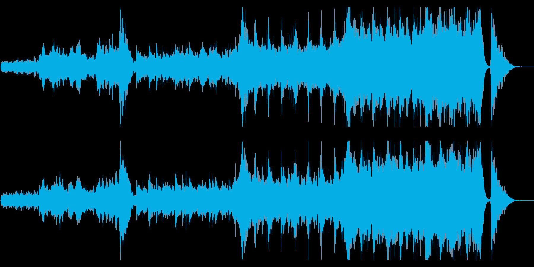 感動が最高潮に達するハイブリッドなオケ3の再生済みの波形