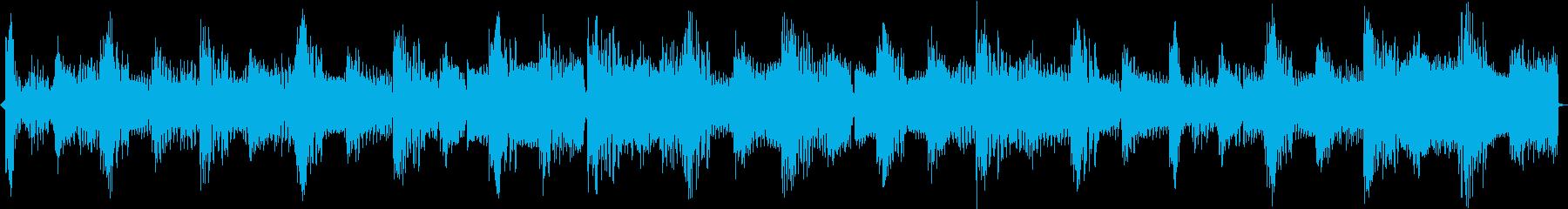 わくわくするような4小節ループの再生済みの波形