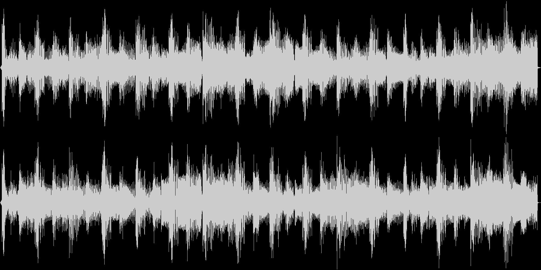 わくわくするような4小節ループの未再生の波形