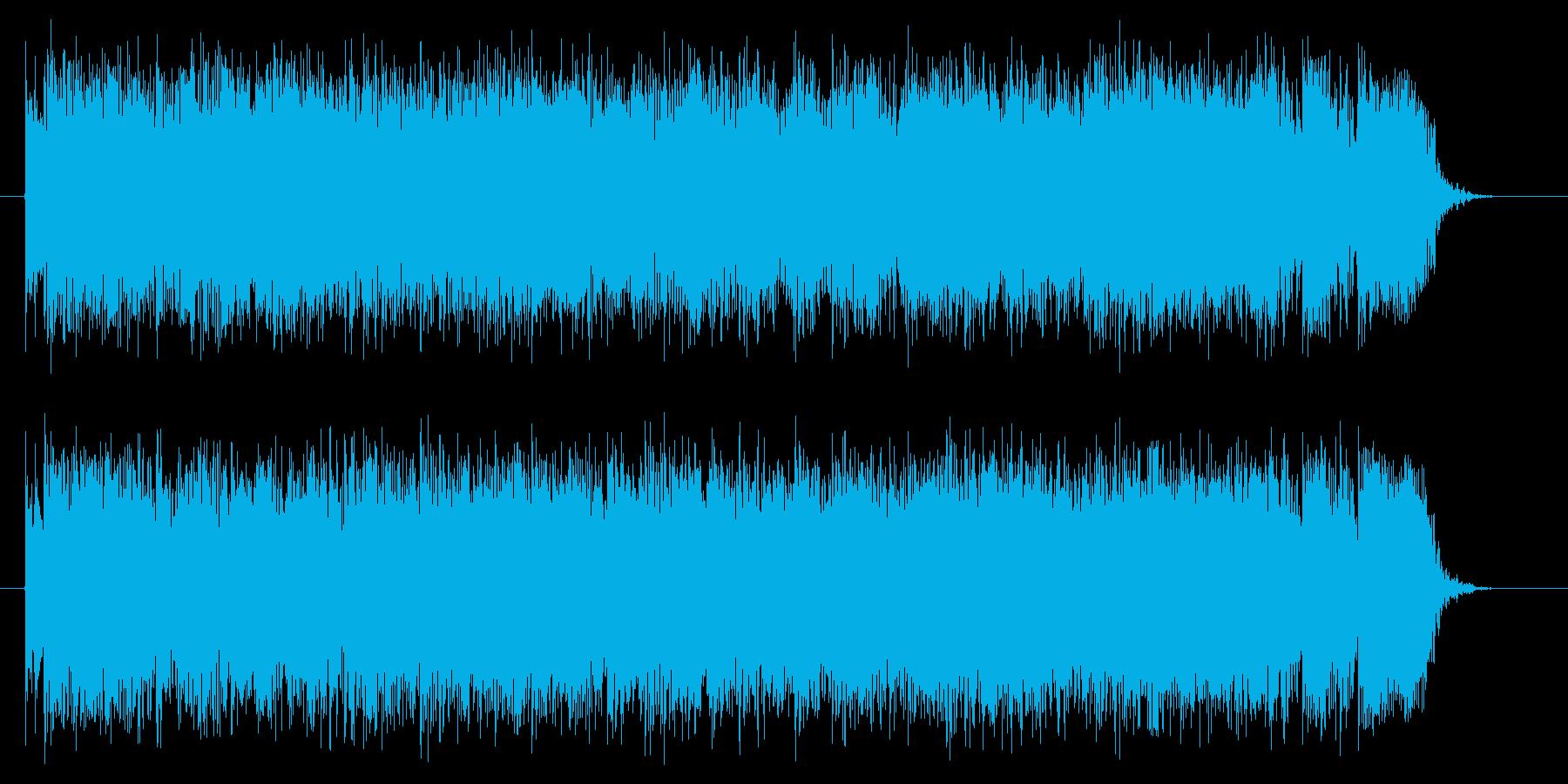 コーナータイトル_明るいJ-ROCKの再生済みの波形