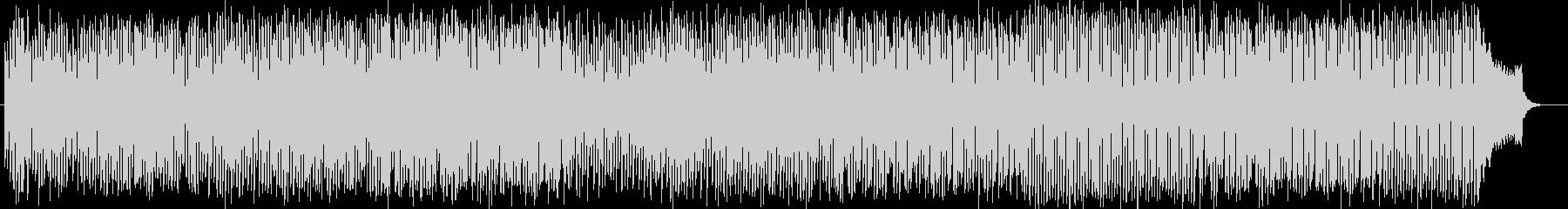 明るく楽しいシンセサイザー系サウンドの未再生の波形