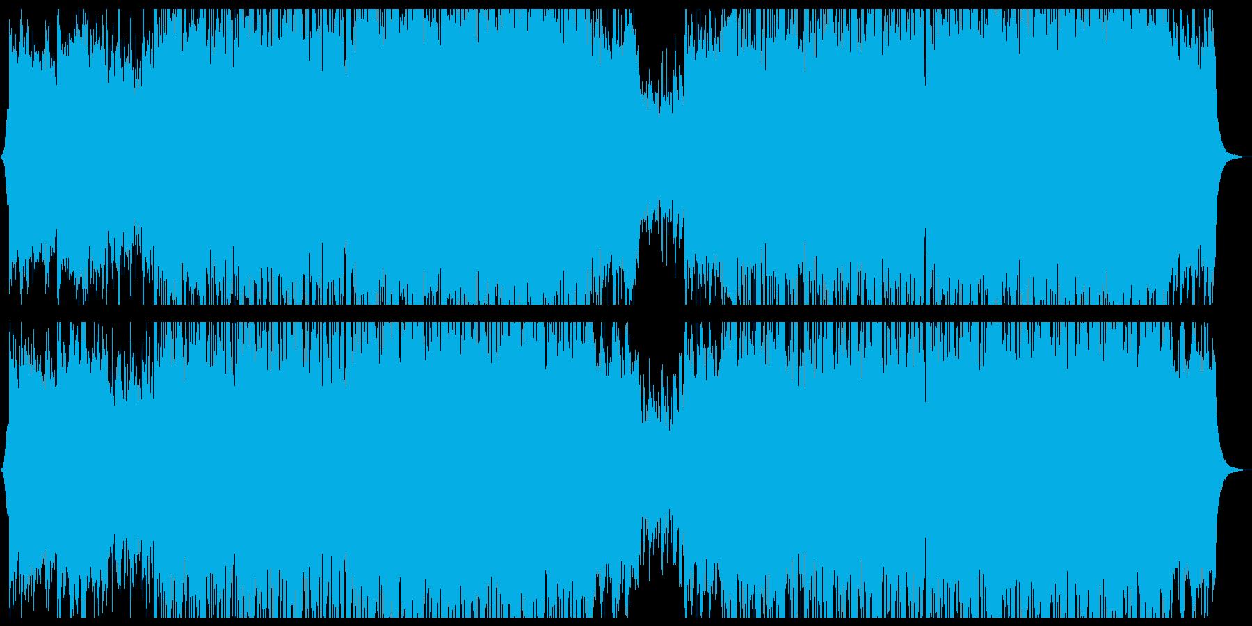 穏やか切ないミニマルエレクトロニカ。の再生済みの波形