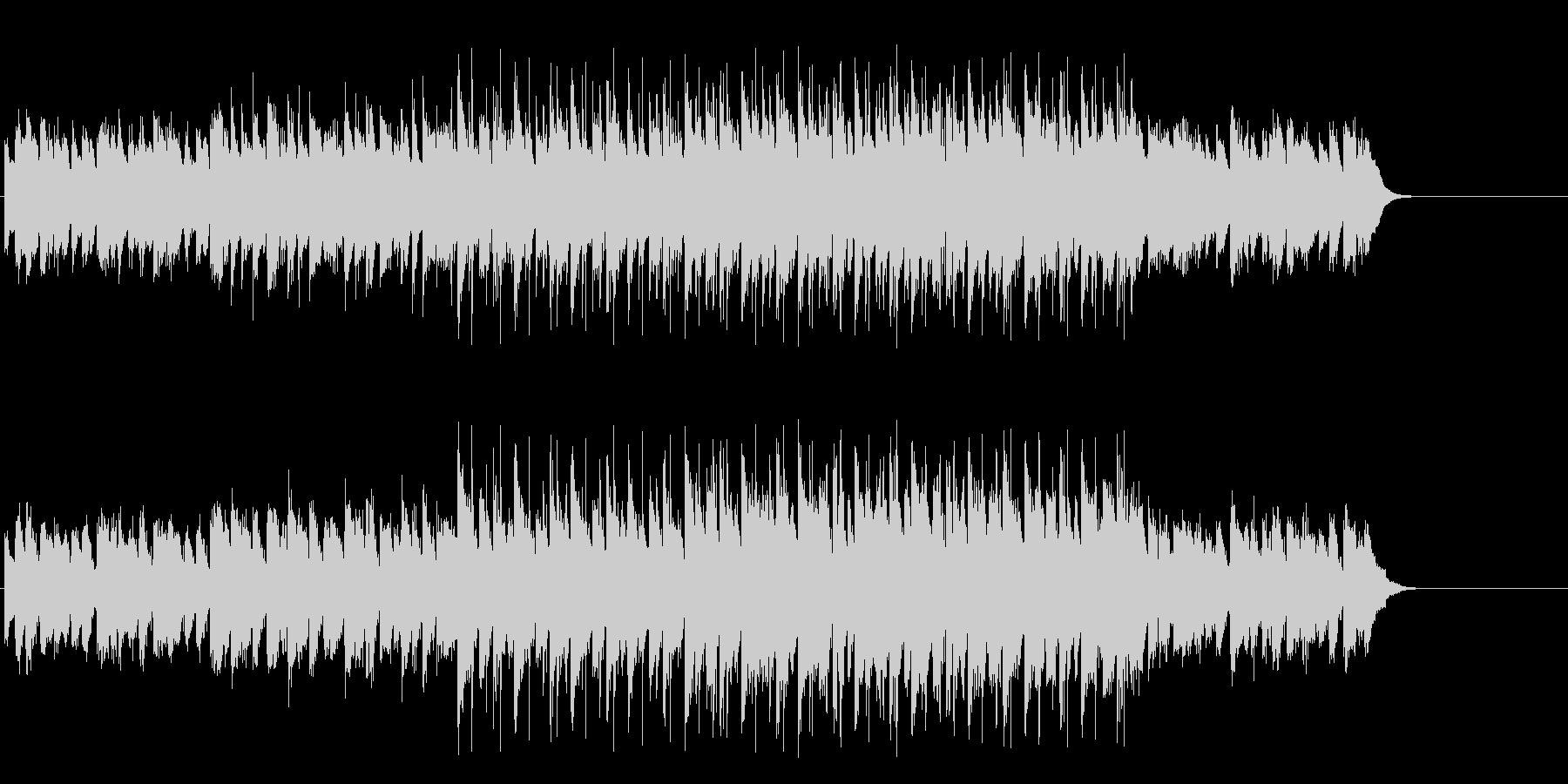 怪しげなマイナーエレクトリックポップスの未再生の波形
