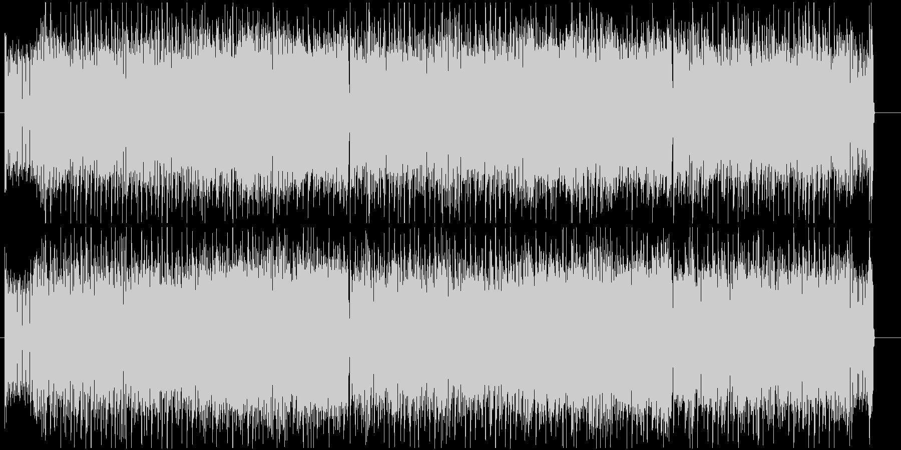 ギター+シンセがメインのエレクトロロックの未再生の波形