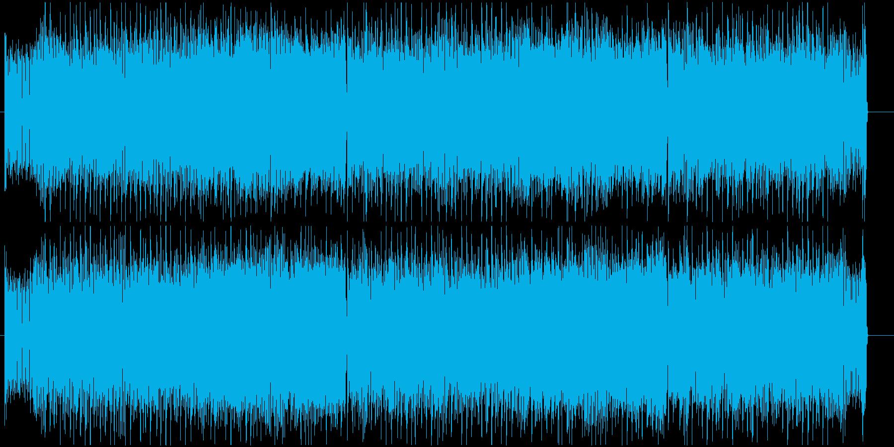 ギター+シンセがメインのエレクトロロックの再生済みの波形