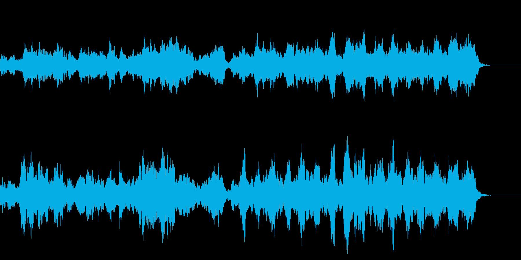 王宮 お城 王様 トランペットの再生済みの波形