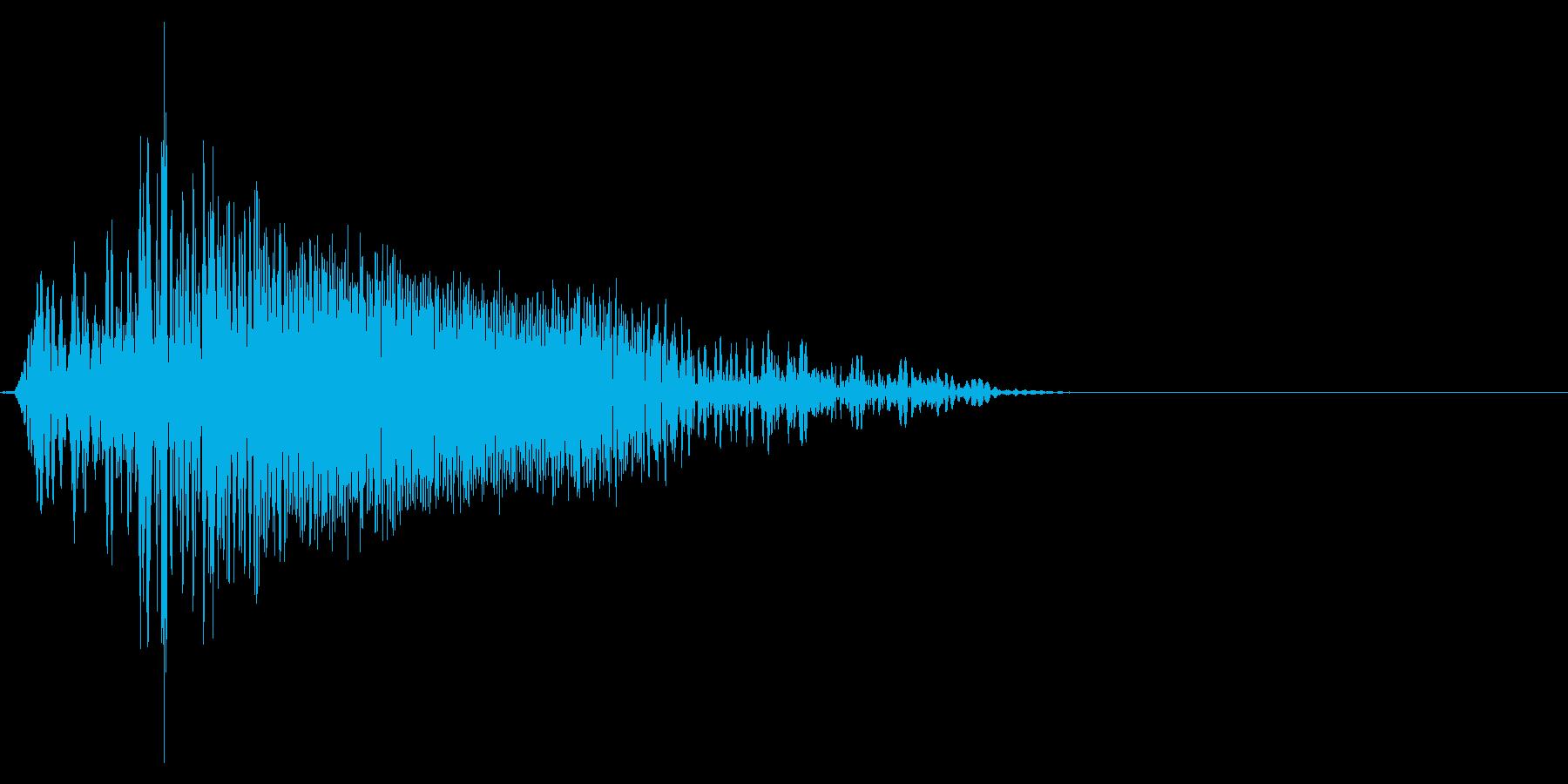 ゲーム掛け声ゾンビ1ノー2の再生済みの波形
