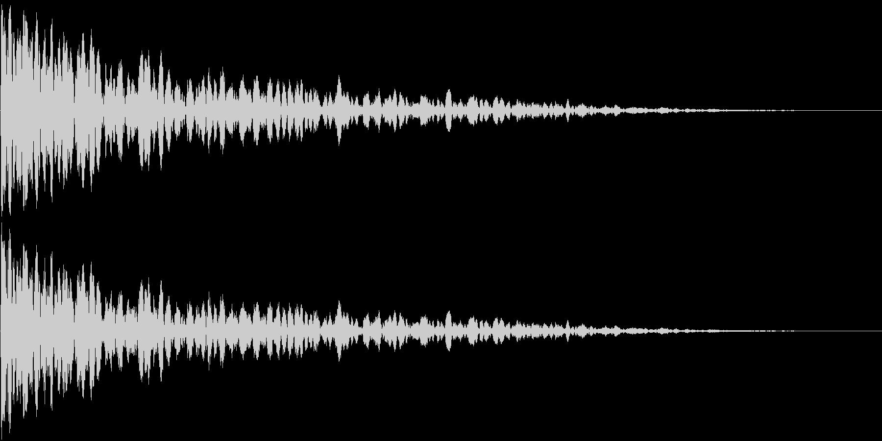 カーン (防御する音)の未再生の波形