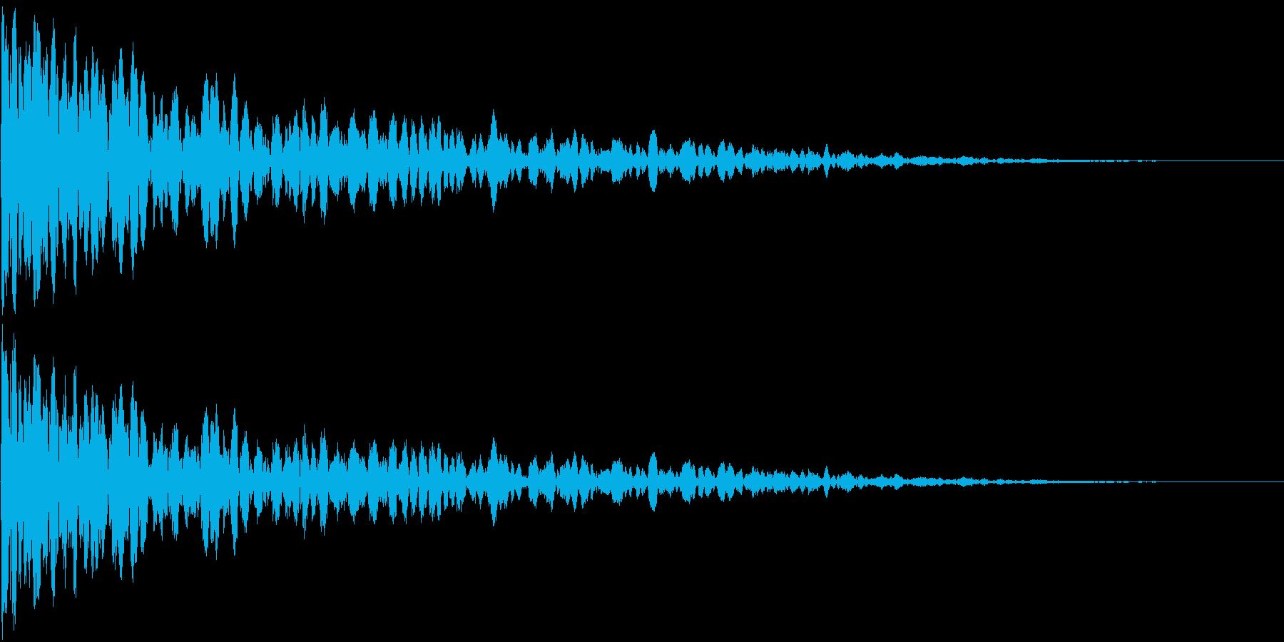 カーン (防御する音)の再生済みの波形