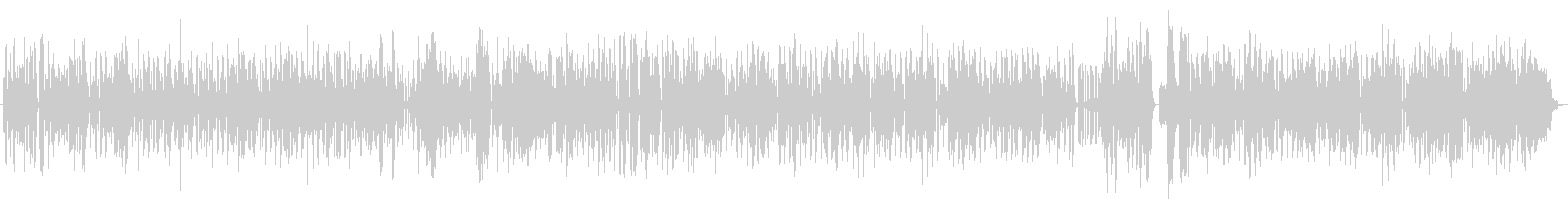 フランスのマヌーシュ・ジャズのイメージの未再生の波形