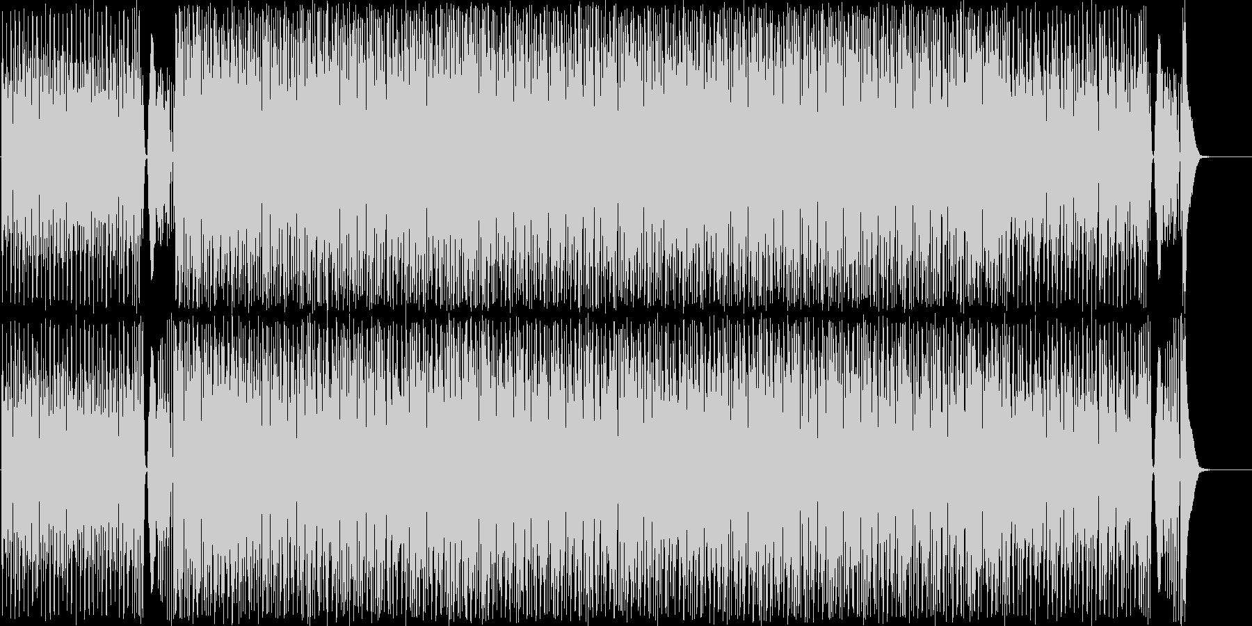 尺八の音色による和の情景を感じる曲の未再生の波形