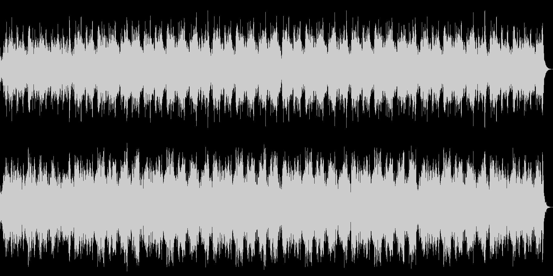 ダーク、ホラー、恐怖の演出 ストリングスの未再生の波形