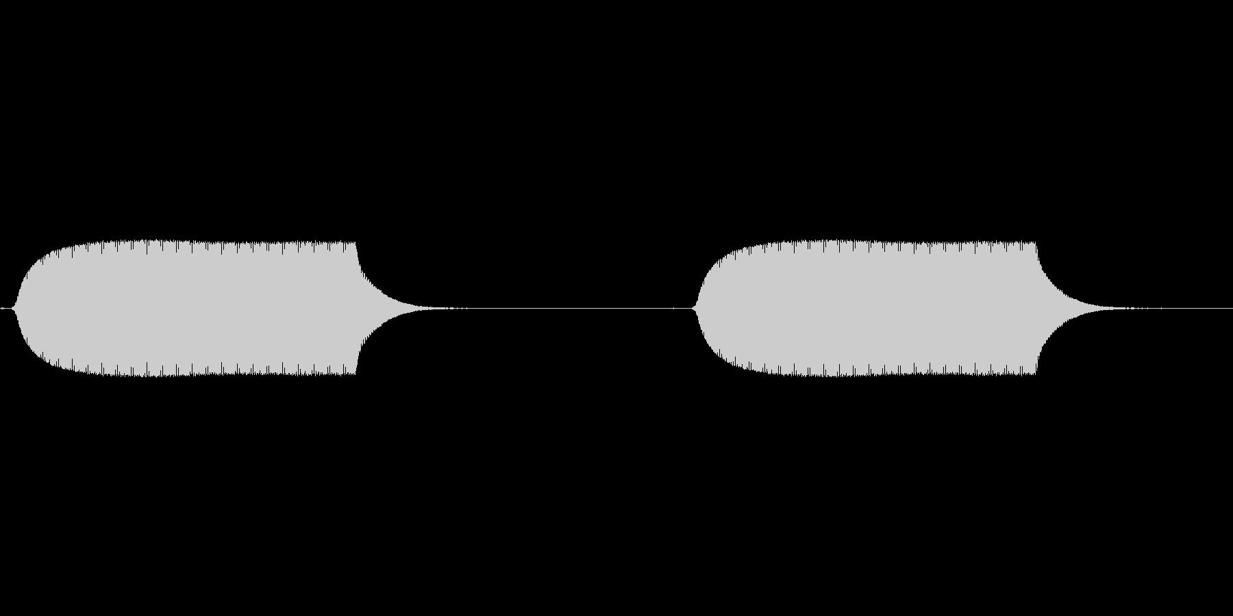 スマフォ バイブレーションの未再生の波形