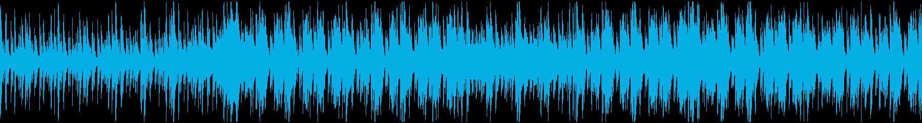 神秘的BGM(アフリカ・古代・儀式)の再生済みの波形