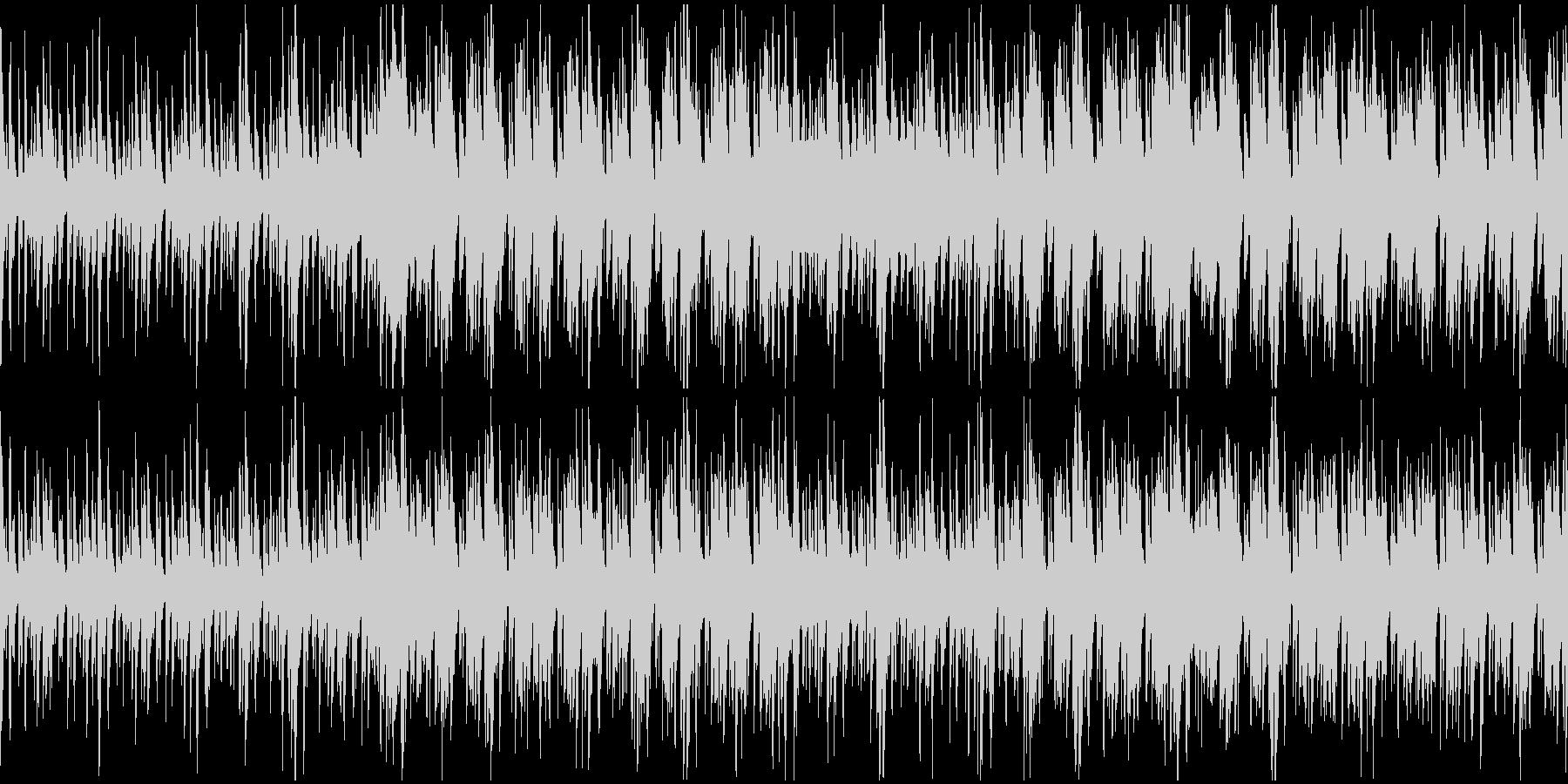 神秘的BGM(アフリカ・古代・儀式)の未再生の波形
