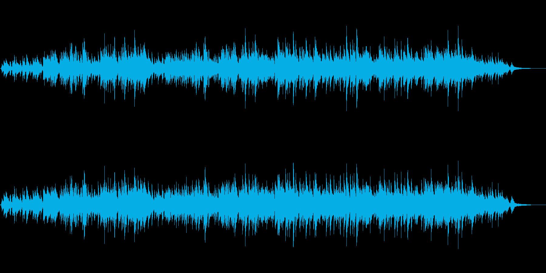 アコギデュオによる爽やかで生演奏曲の再生済みの波形