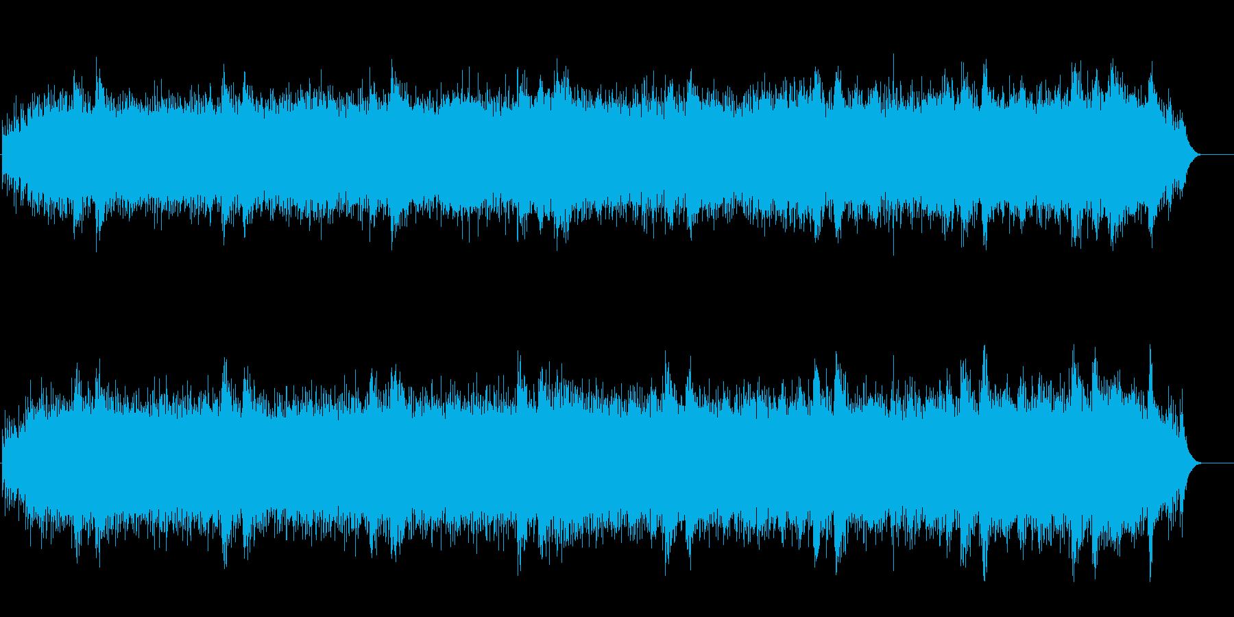 閉じた空間に佇む神秘的アンビ系サウンドの再生済みの波形