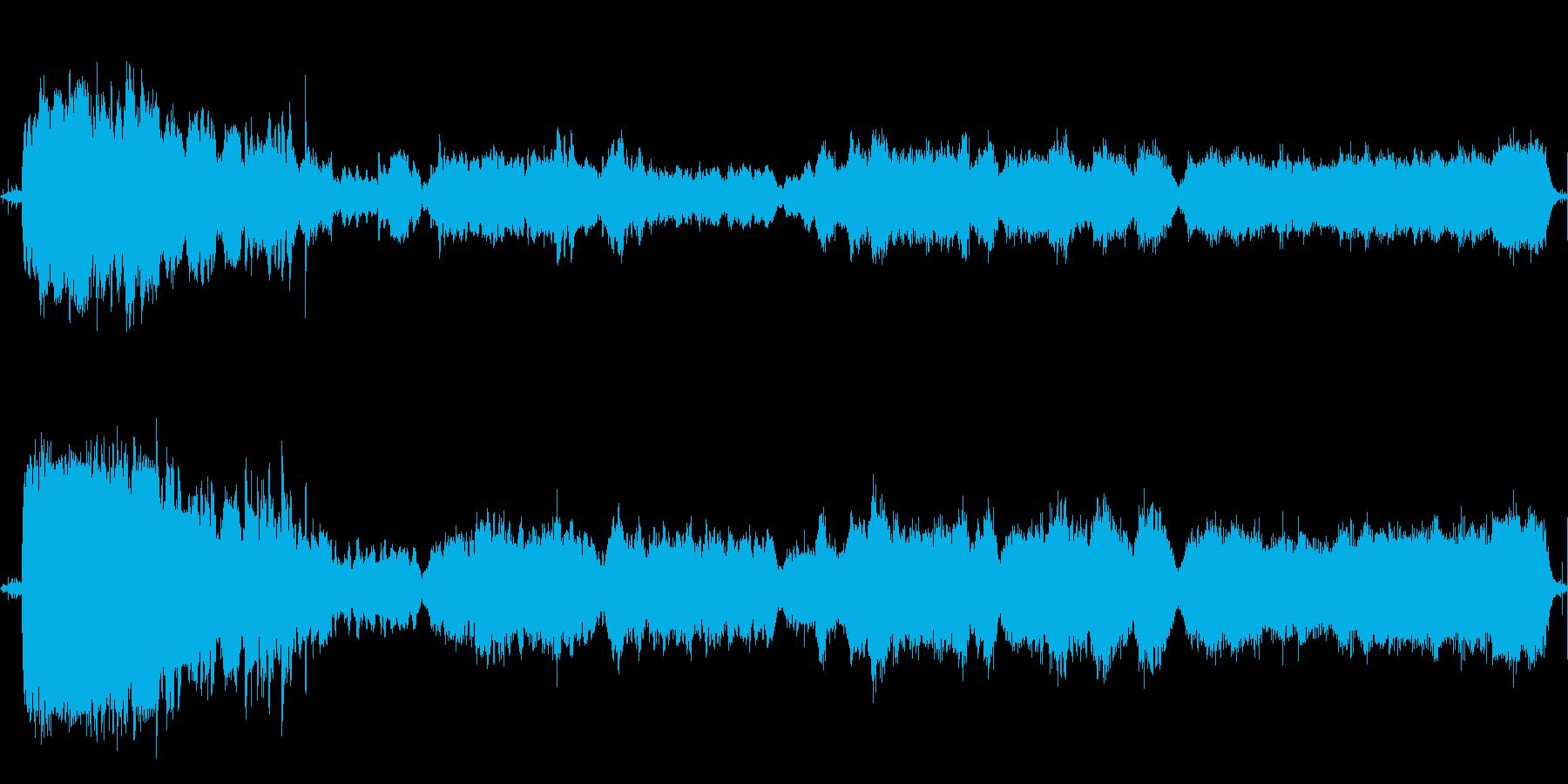 エミリーブロンテの嵐が丘のイメージで作…の再生済みの波形
