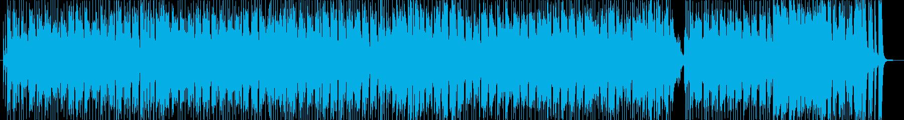 ラテン風の哀しげなソング1の再生済みの波形