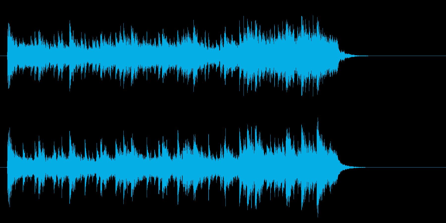 愛を語らうライトバラード(イントロ)の再生済みの波形
