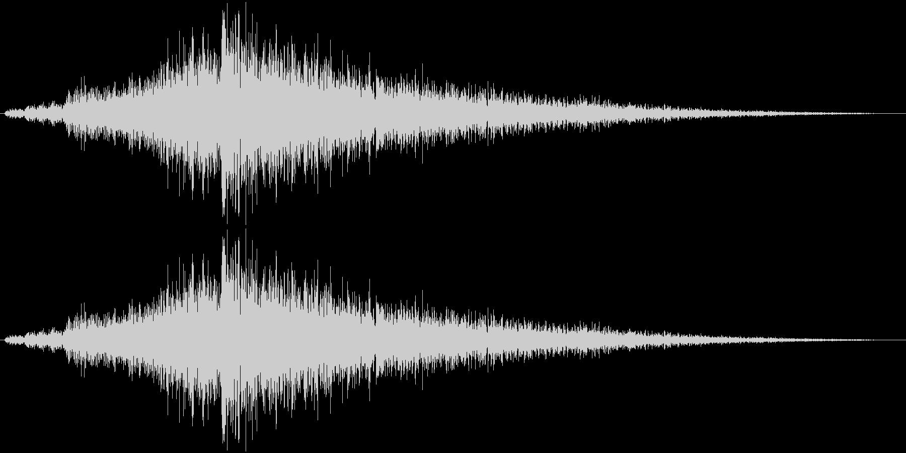 シューワワーン(ワープ系)の未再生の波形