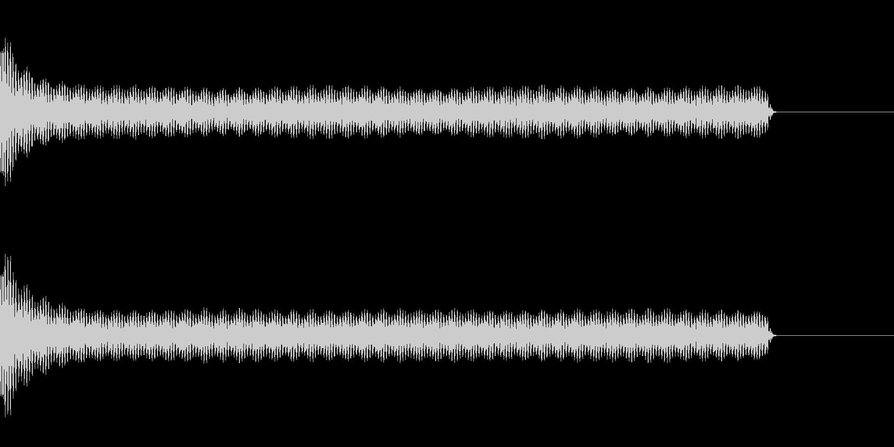 工事中のうるさいドリル音(長)の未再生の波形