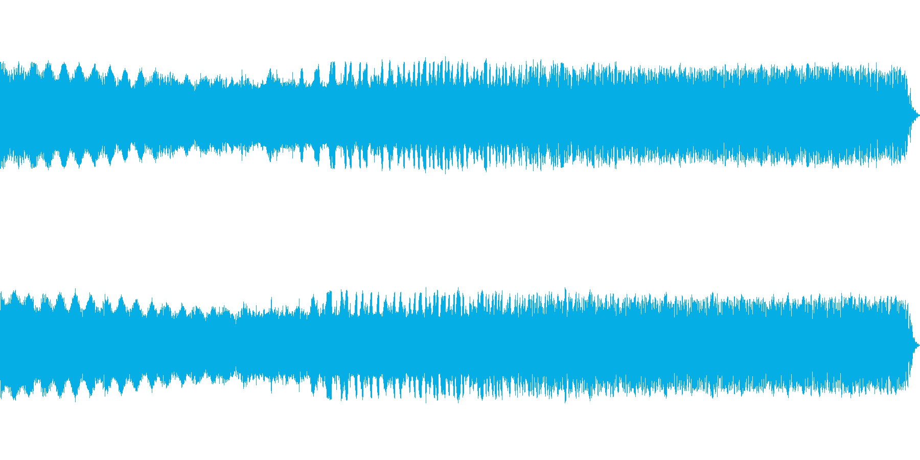 ヒュルルル ギュイーン(エネルギー充電)の再生済みの波形