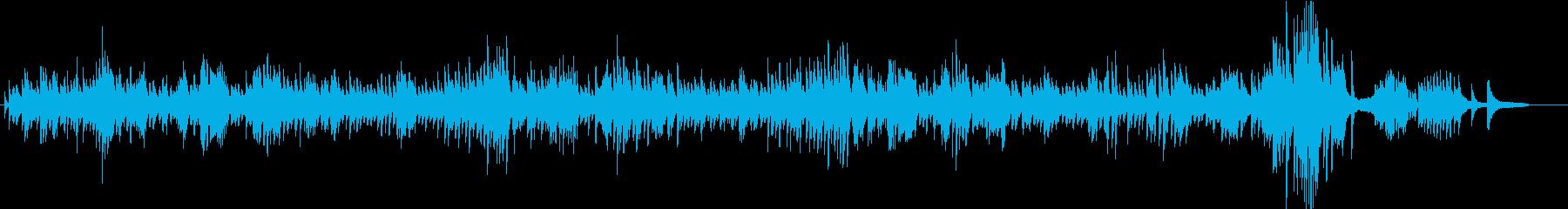 【ノクターン第2番】ピアノ・ショパンの再生済みの波形