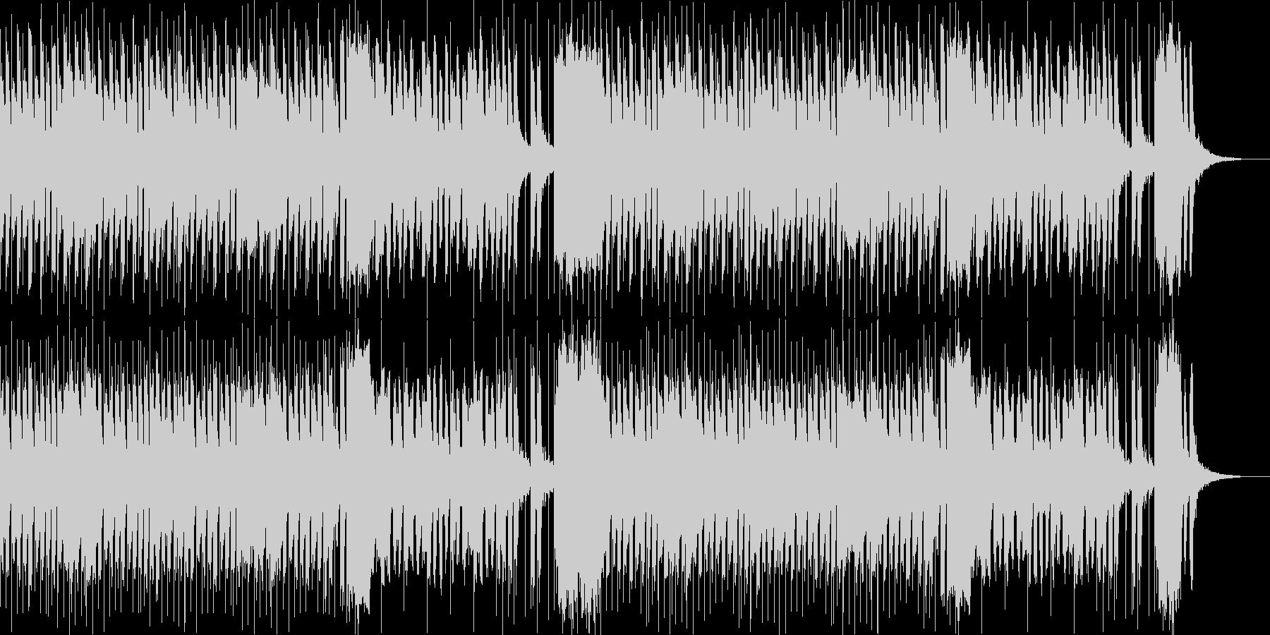 コミカル かわいい 2の未再生の波形