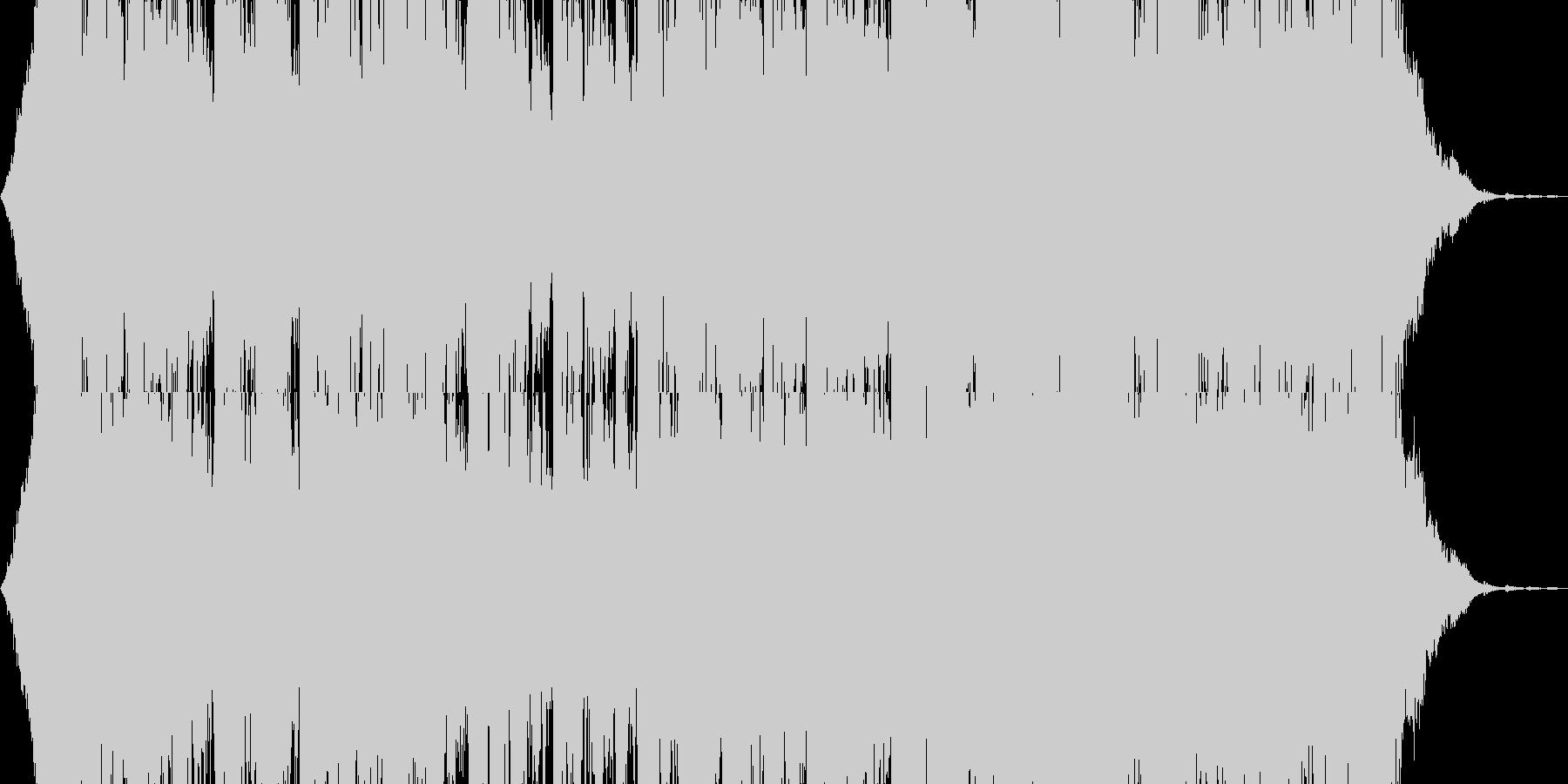 太鼓メインで作成しました。の未再生の波形
