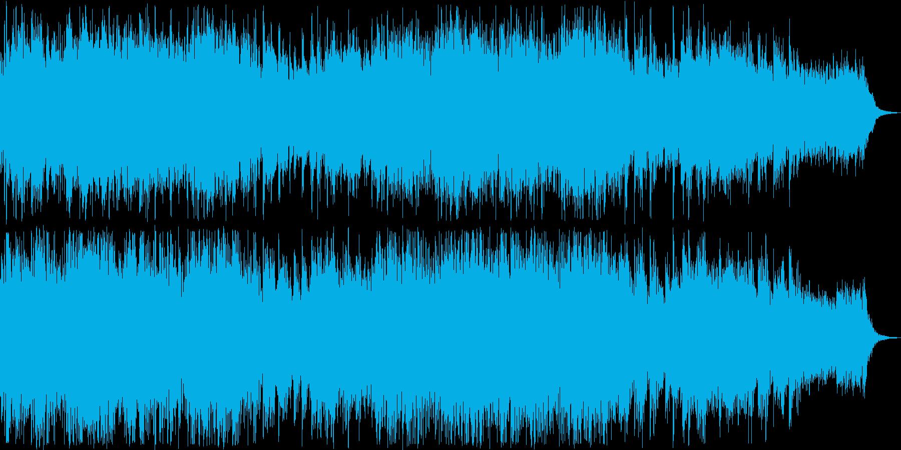 情緒溢れるリラクゼーションミュージックの再生済みの波形