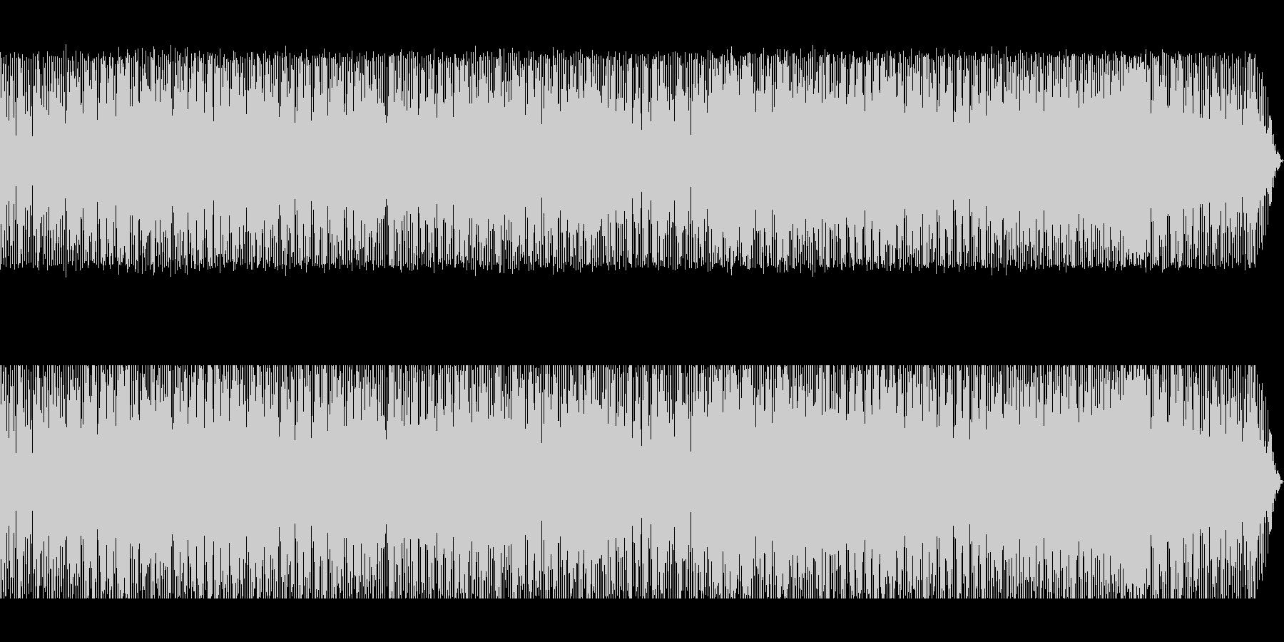 虚無僧の尺八をイメージしたヒップホップの未再生の波形
