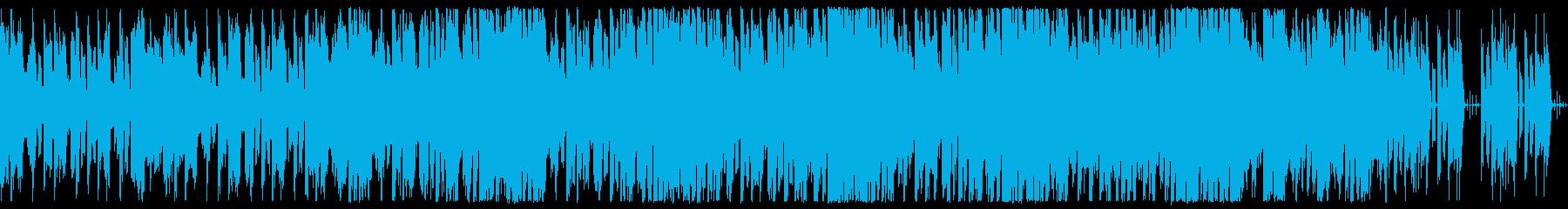怪しい所を探索 作戦会議等 サイバー系の再生済みの波形