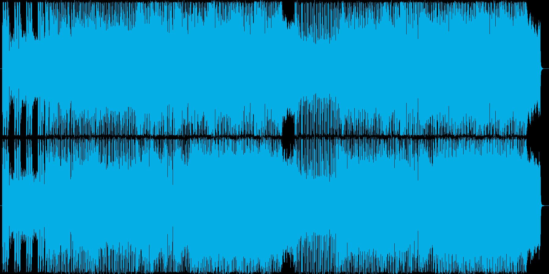 シンプルで疾走感のある軽快ギターロックの再生済みの波形