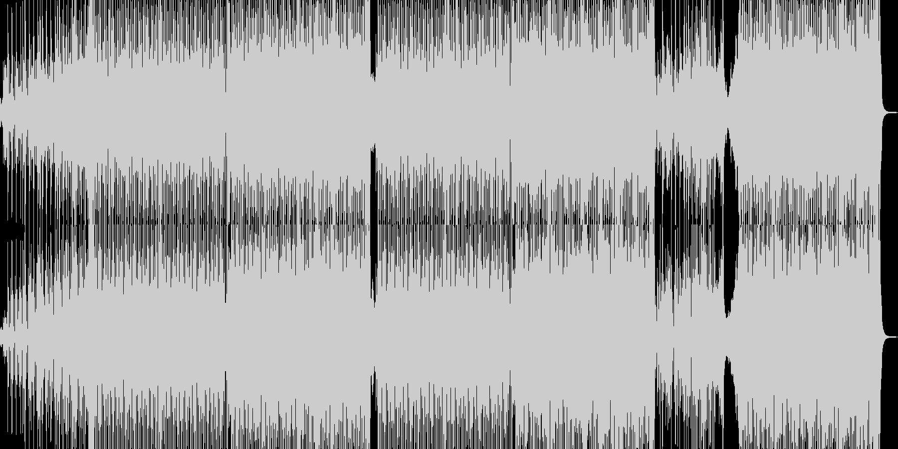 原人よりも猿人の時代をイメージの未再生の波形