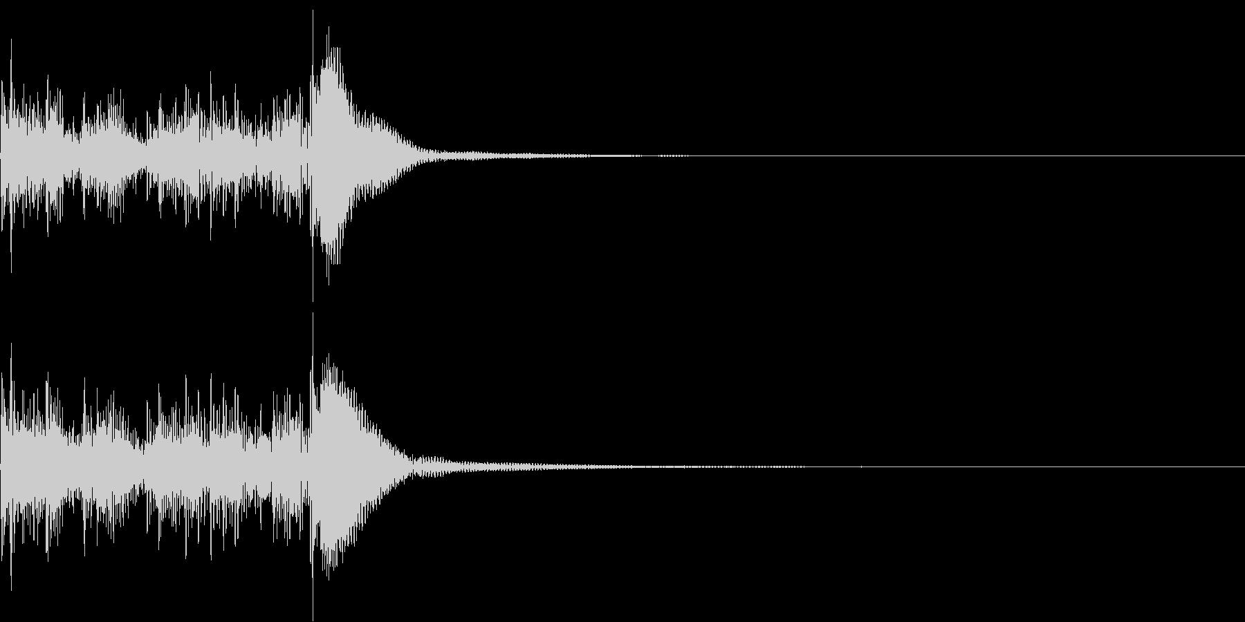 短めなティンパニロール~正統派~の未再生の波形