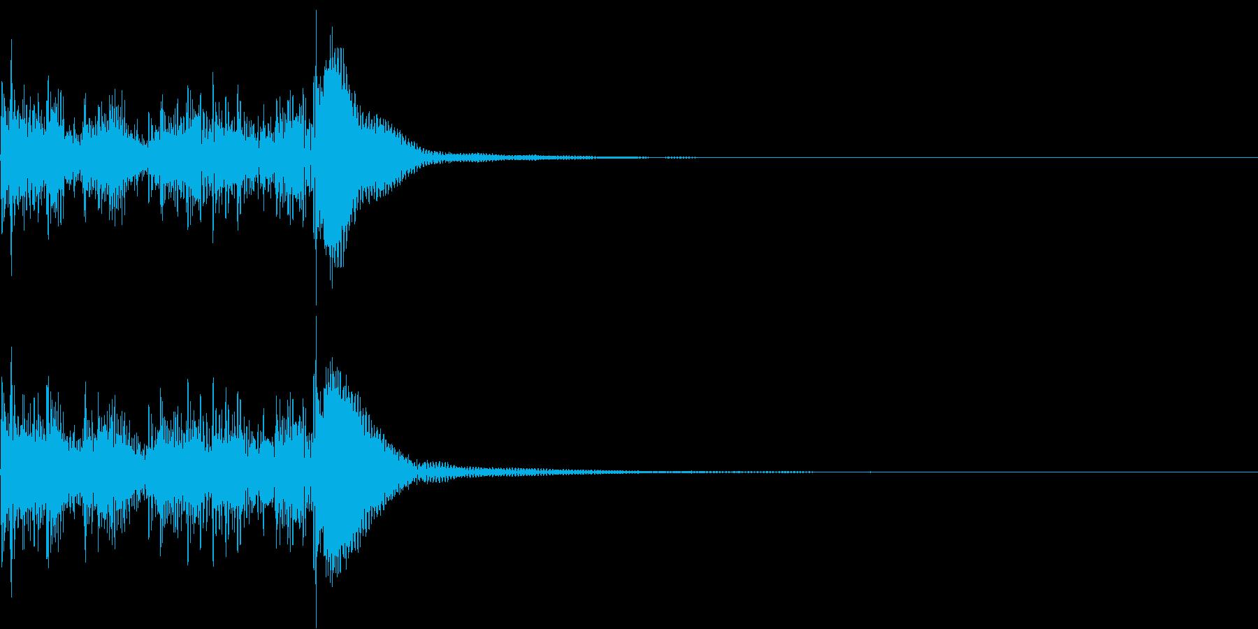 短めなティンパニロール~正統派~の再生済みの波形