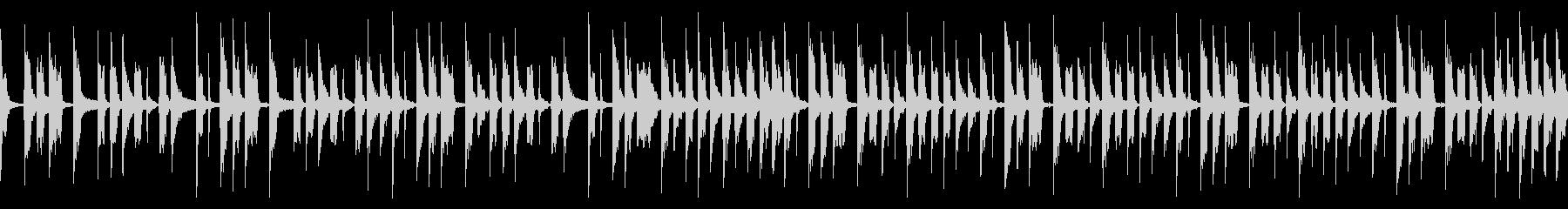 シンプルなベースループの未再生の波形