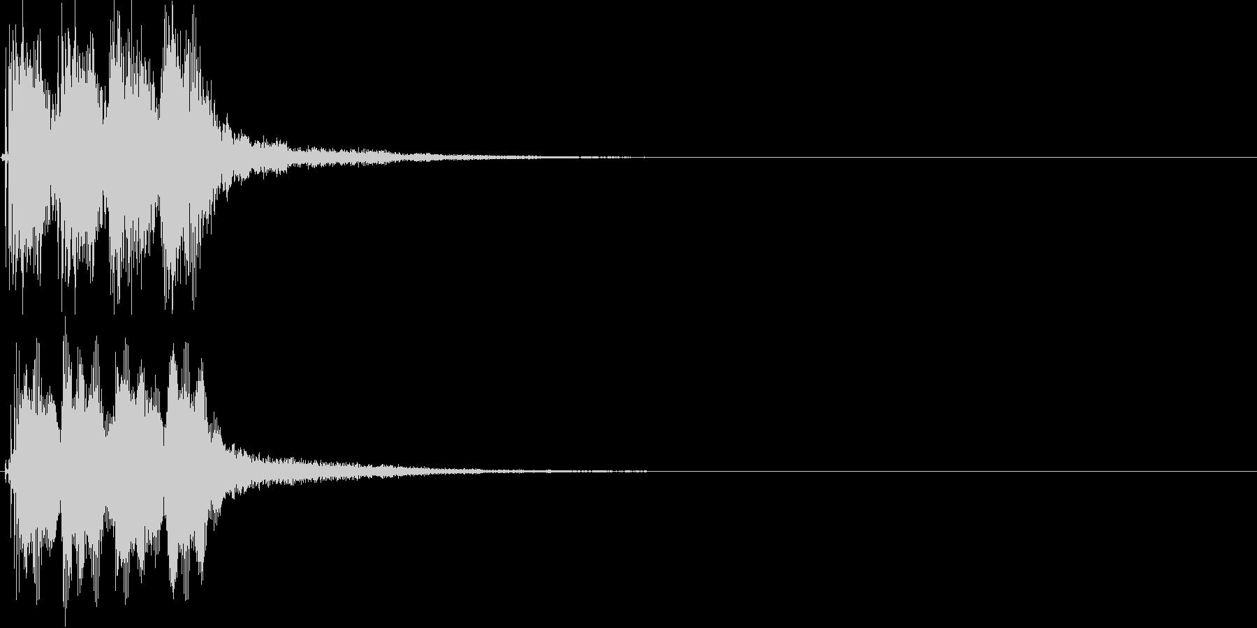 ピピピ(警告音、ゲーム魔法、発見)の未再生の波形