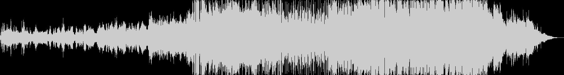 センチメンタルなK-popバラードの未再生の波形