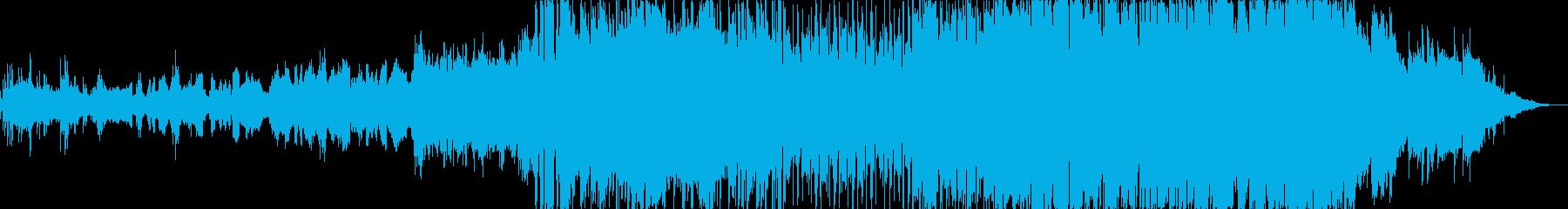 センチメンタルなK-popバラードの再生済みの波形