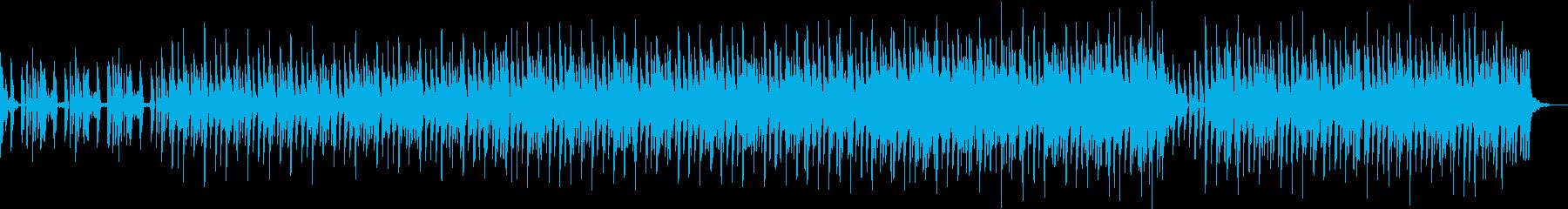 ラテン風味・テクノの再生済みの波形