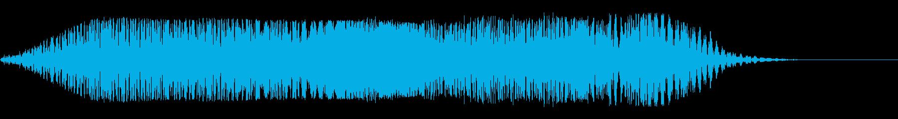 ブワワン(巨大惑星)の再生済みの波形