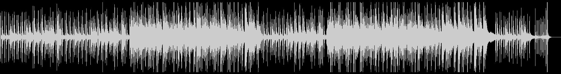優しく美しいピアノワルツの未再生の波形