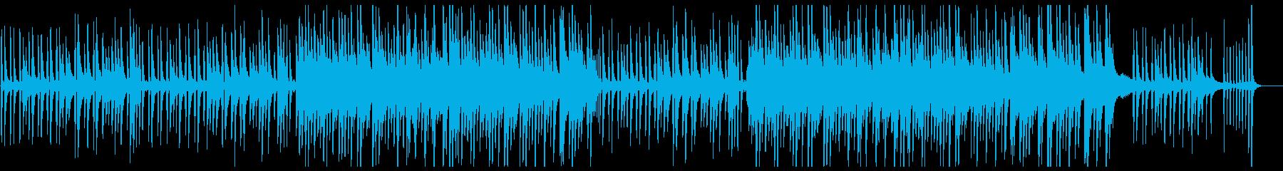 優しく美しいピアノワルツの再生済みの波形