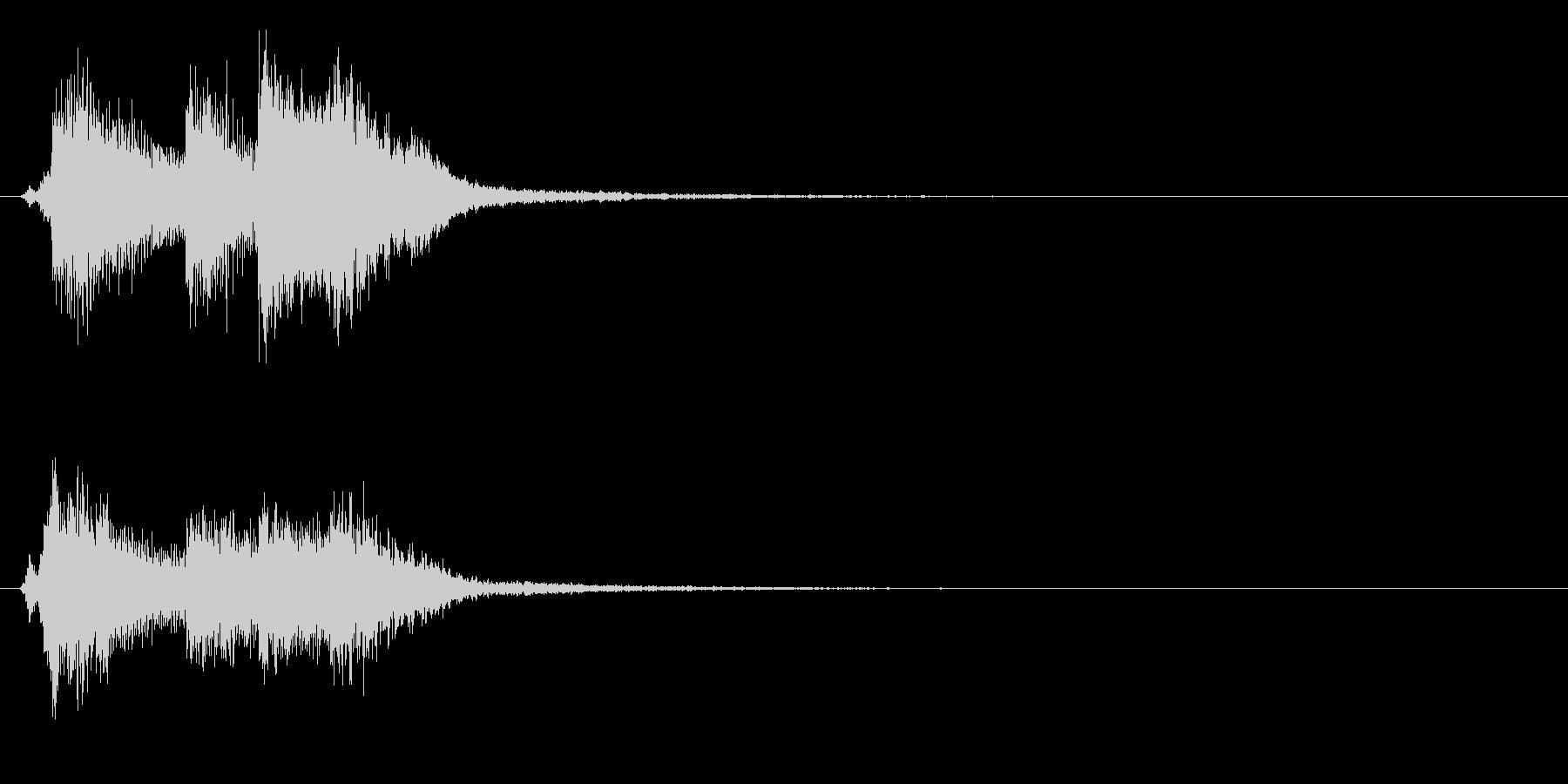 バロック3 スタート音 豪華決定音の未再生の波形