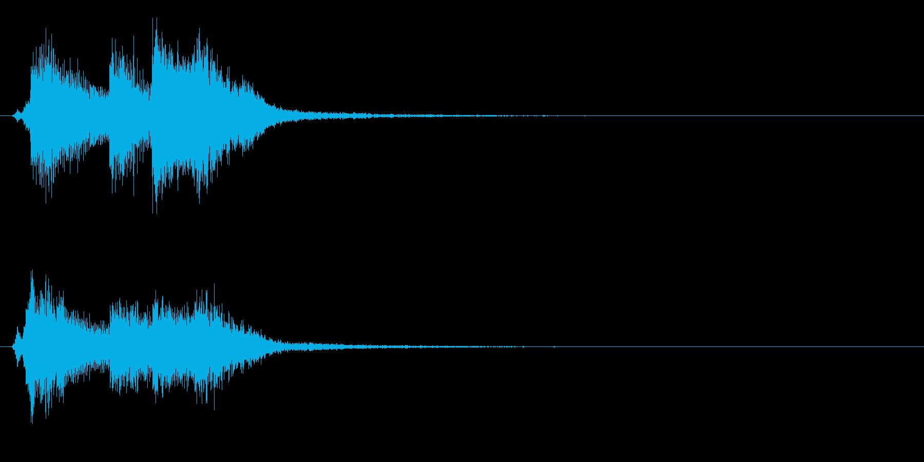 バロック3 スタート音 豪華決定音の再生済みの波形