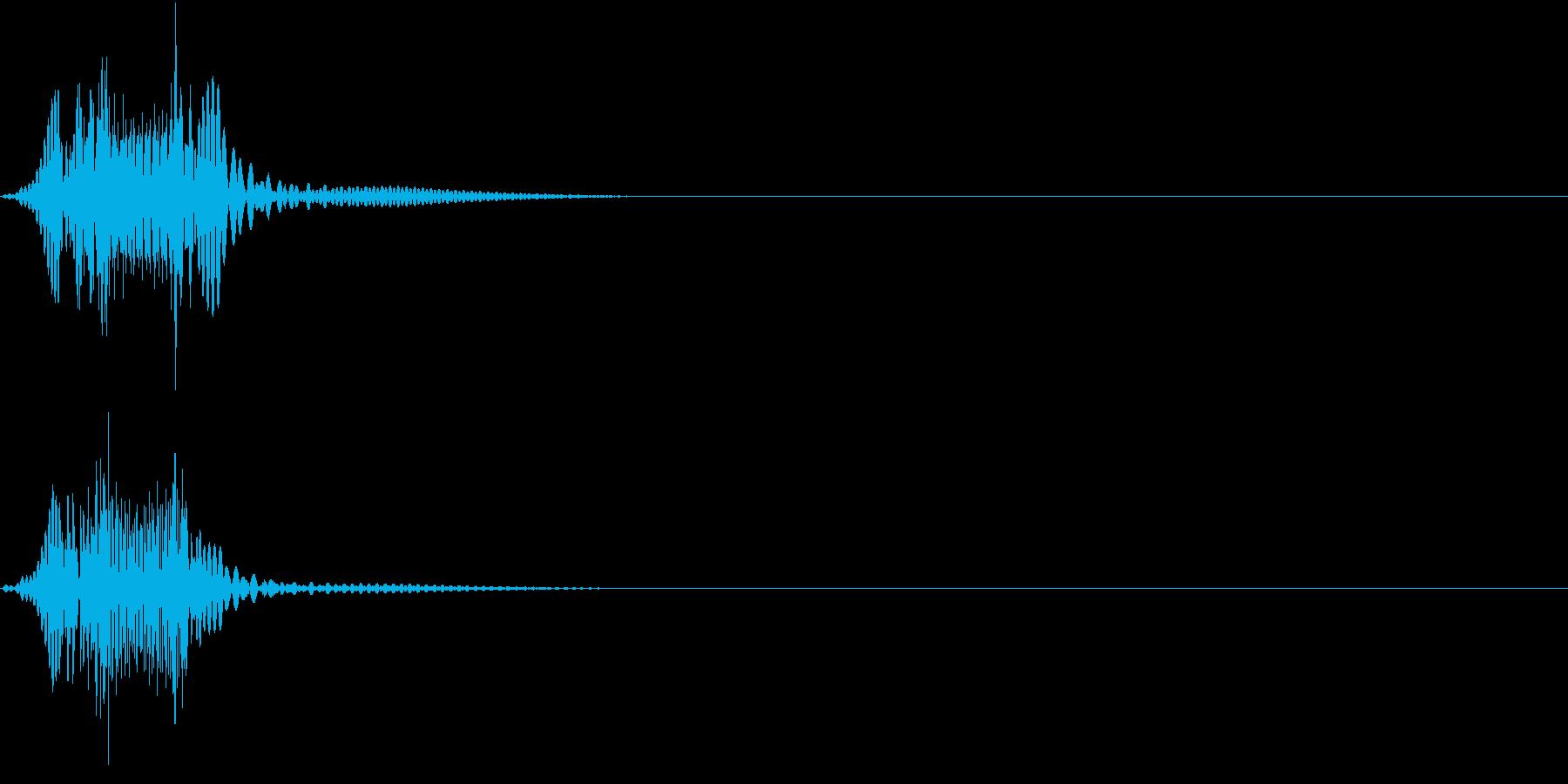 Push 汎用決定・セレクト音 1の再生済みの波形